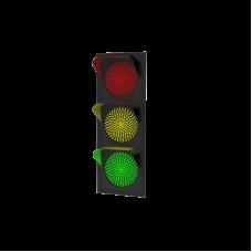 Светофор светодиодный Т.1.1 12В (плоский корпус)