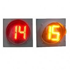 Табло обратного отсчета времени в корпусе светофора ТООВ-300КЛ(RG)