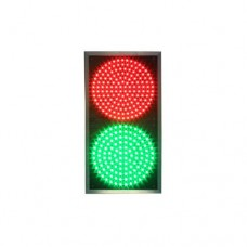 Светофор светодиодный Т8.1 -200мм (плоский) 12В