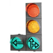 Светофор светодиодный транспортный Т.1.л.1 200 мм
