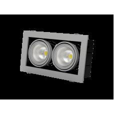 GRAZIOSO 2 LED 2х30 3000K Светильник светодиодный карданный Vivo Luce