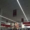 Линейные торговые светодиодные светильники
