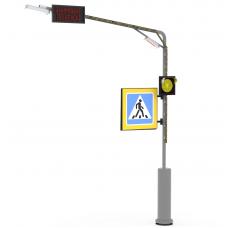 """Комплекс контрастного освещения CrossNET с проекцией """"стоп-линии"""""""