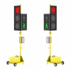 Мобильный светофор серии ДУОС Пешеход ХРОНО