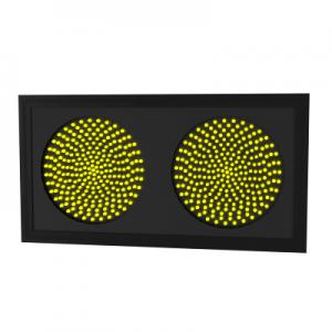 Светофор светодиодный Т.7.д.2 (300 мм) 220В (плоский корпус)