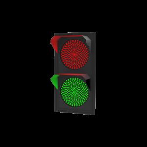 Светофор светодиодный Т.8.2 (300 мм) 220В (плоский корпус)