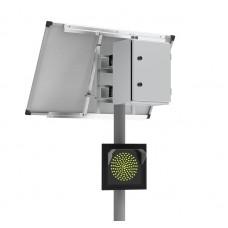 110Вт/40Ач Автономный светофор Т.7.2 односторонний 300мм