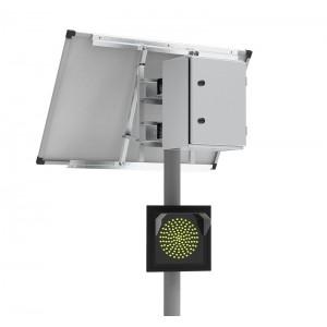 100Вт/40Ач Автономный светофор Т.7.2 односторонний 300мм