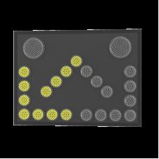 Сигнальная стрелка для прицепов прикрытия