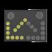 Сигнальная стрелка для прицепа прикрытия (100мм-Ж-21шт, 200мм-Б-2шт, проводной пульт управления)