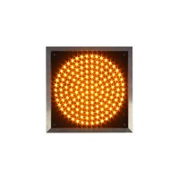 Светофор желтый Т.7.1 - 200мм светодиодный