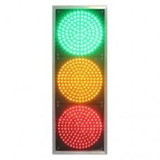 Светофор транспортный светодиодный Т1.1 - 200мм плоский (12В)