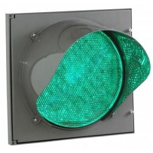 Светофор светодиодный транспортный Т.12.1 200 мм (зеленый)