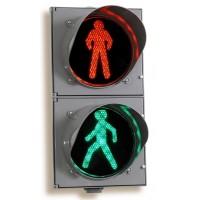 Светодиодный пешеходный светофор П.1.1