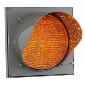 Светофор светодиодный транспортный Т.7.1М 200 мм (мигающий)