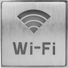 "EL51 Светильник аккумуляторный, 1 LED/1W 230V, AC ""Wi-fi"" синий 110*110*20 mm, серебристый"