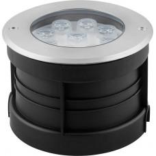 Светодиодный светильник тротуарный (грунтовый) SP4113 9W RGB 230V IP67