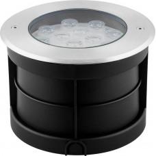 Светодиодный светильник тротуарный (грунтовый) SP4114 12W RGB 230V IP67