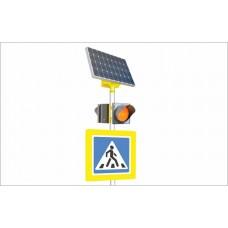 LGM-duo 100/65 Автономный двухсторонний светофор Т.7 на солнечных батареях