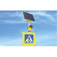 LGM-100/65 Автономный светофор Т.7 на солнечных батареях