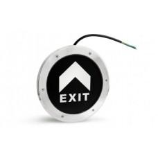 Светильник аварийный встроенный в пол PL BL 1.0