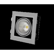 GRAZIOSO 1 LED 30 3000K clean Светильник светодиодный карданный Vivo Luce
